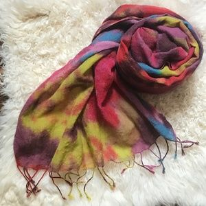 Colorful Hippie Boho Scarf from Ann Taylor Loft